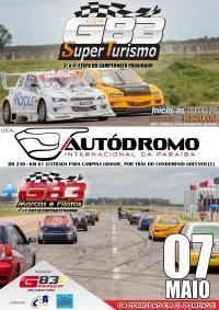 Campeonato Paraibano de ST e Marcas acontecem no próximo mês (07 de Maio) no Autódromo da PB.