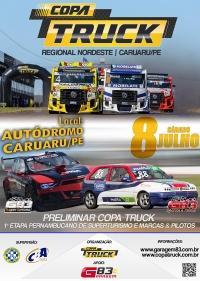 [EM CARUARU] Etapa da Copa Truck terá corrida preliminar de SuperTurismo e Marcas & Pilotos