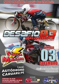DragBike em Caruaru/PE já tem data definida e o evento ganha show de manobras!