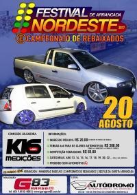 Campeonato de Rebaixados acontece no Festival de Arrancadas da Paraíba