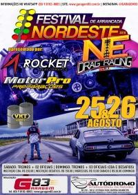 2º Festival NE Drag Racing de Arrancadas é confirmado no Autódromo da Paraíba.