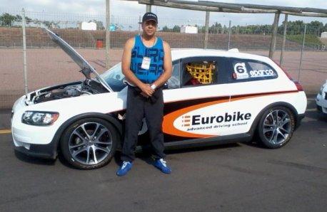 Instrutor: Walter Santos do Curso GTB Racing de Pilotagem.