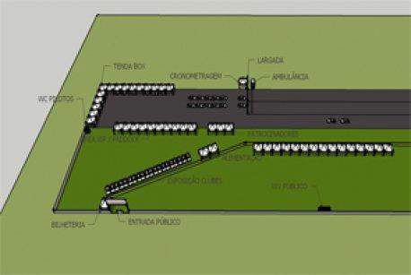 Projeto Arquitet�nico do evento: Desafio83 - Arrancada Guarabira/PB